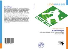 Copertina di Barrie Meyer