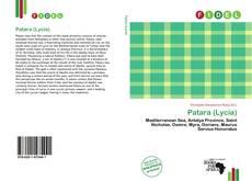 Buchcover von Patara (Lycia)