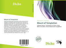 Bookcover of Mount of Temptation