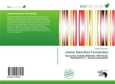 Buchcover von Jaime Sánchez Fernández