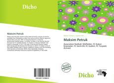 Capa do livro de Maksim Petruk