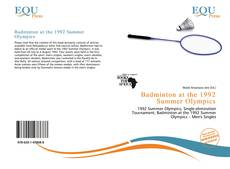 Badminton at the 1992 Summer Olympics kitap kapağı