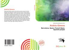 Bookcover of Andrés Gimeno