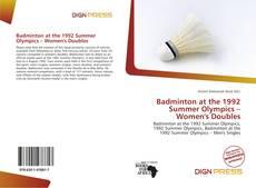 Обложка Badminton at the 1992 Summer Olympics – Women's Doubles