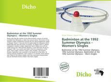 Badminton at the 1992 Summer Olympics – Women's Singles kitap kapağı