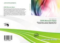 2009 Warsaw Open的封面