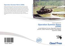 Capa do livro de Operation Summer Rains (2006)