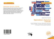 Bookcover of Operation Autumn Clouds