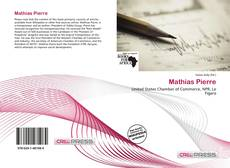 Bookcover of Mathias Pierre