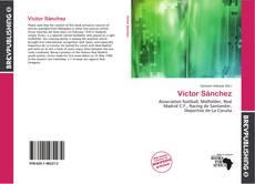 Capa do livro de Víctor Sánchez