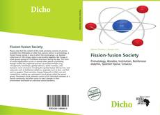 Bookcover of Fission-fusion Society