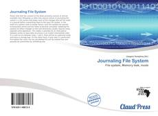 Bookcover of Journaling File System