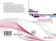 Couverture de Fatal System Error