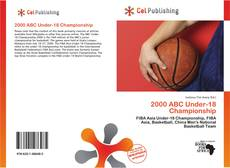 Capa do livro de 2000 ABC Under-18 Championship