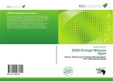2008 Orange Warsaw Open的封面
