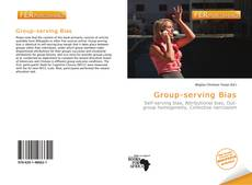 Buchcover von Group-serving Bias