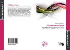 Bookcover of 2008 Qatar Open