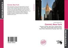 Capa do livro de Carmel, New York