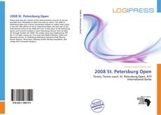 Portada del libro de 2008 St. Petersburg Open