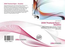 Bookcover of 2008 Thailand Open – Doubles