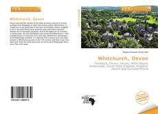 Bookcover of Whitchurch, Devon