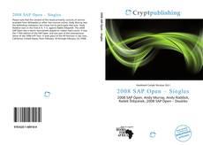 Bookcover of 2008 SAP Open – Singles