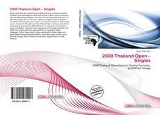 Buchcover von 2008 Thailand Open – Singles
