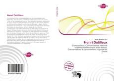 Henri Dutilleux kitap kapağı