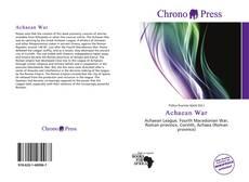 Buchcover von Achaean War