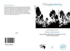 Buchcover von Hans Nüsslein