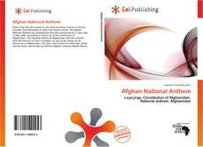 Bookcover of Afghan National Anthem