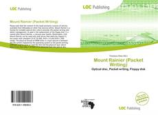 Copertina di Mount Rainier (Packet Writing)