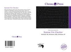 Borítókép a  System File Checker - hoz