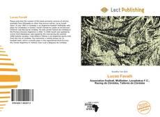 Portada del libro de Lucas Favalli