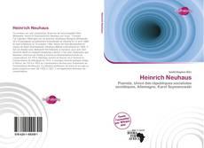 Copertina di Heinrich Neuhaus
