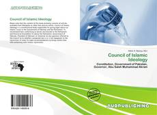 Bookcover of Council of Islamic Ideology