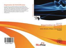 Capa do livro de Organisation de l'Unité Africaine