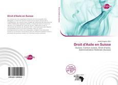 Обложка Droit d'Asile en Suisse