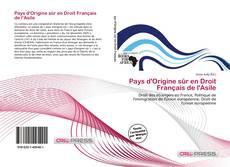 Bookcover of Pays d'Origine sûr en Droit Français de l'Asile