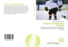 Couverture de Gregory Campbell (Ice Hockey)