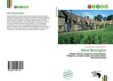 Portada del libro de West Bexington