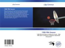Обложка 1986 PBA Season