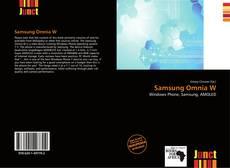Couverture de Samsung Omnia W