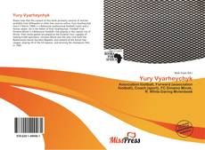 Bookcover of Yury Vyarheychyk