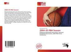 Buchcover von 2004–05 PBA Season