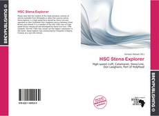 Bookcover of HSC Stena Explorer