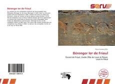 Обложка Bérenger Ier de Frioul