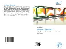 Bookcover of Archana (Actress)
