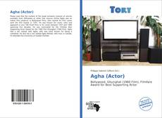 Bookcover of Agha (Actor)