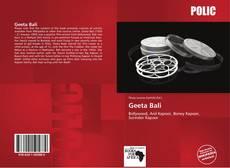 Buchcover von Geeta Bali